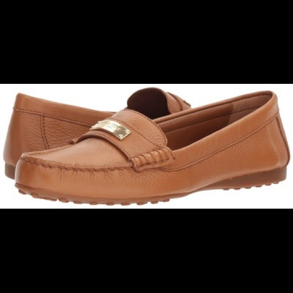 5c414f3412e Coach Ginger Fredrica Pebbled Leather Loafers